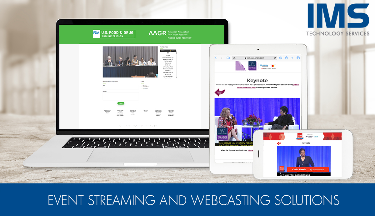 Event streaming and webcasting services