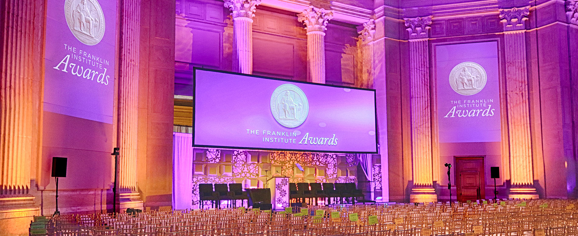 event staging and production - awards gala