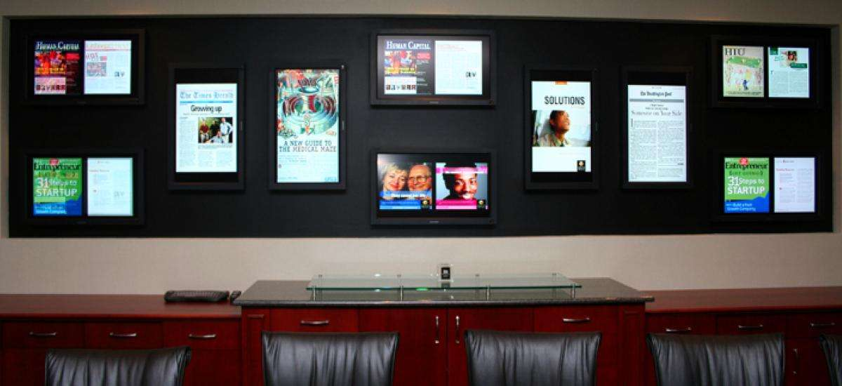 Corporate Digital Signage at Health Advocate, Inc.