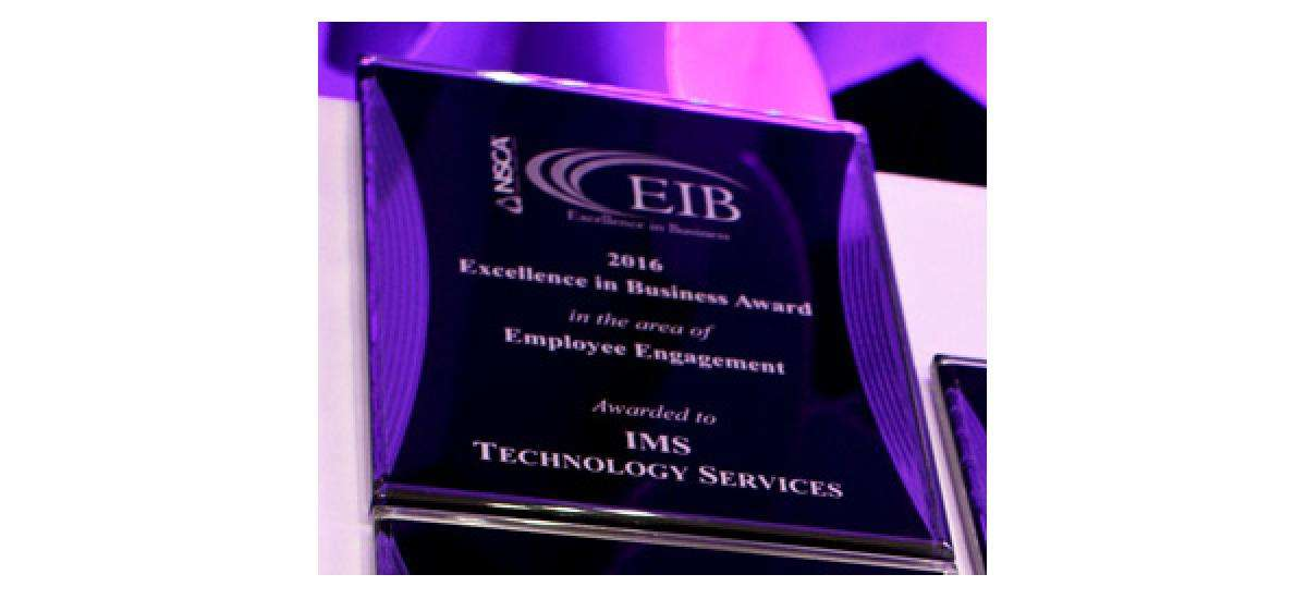 IMS Wins Excellence in Business Award
