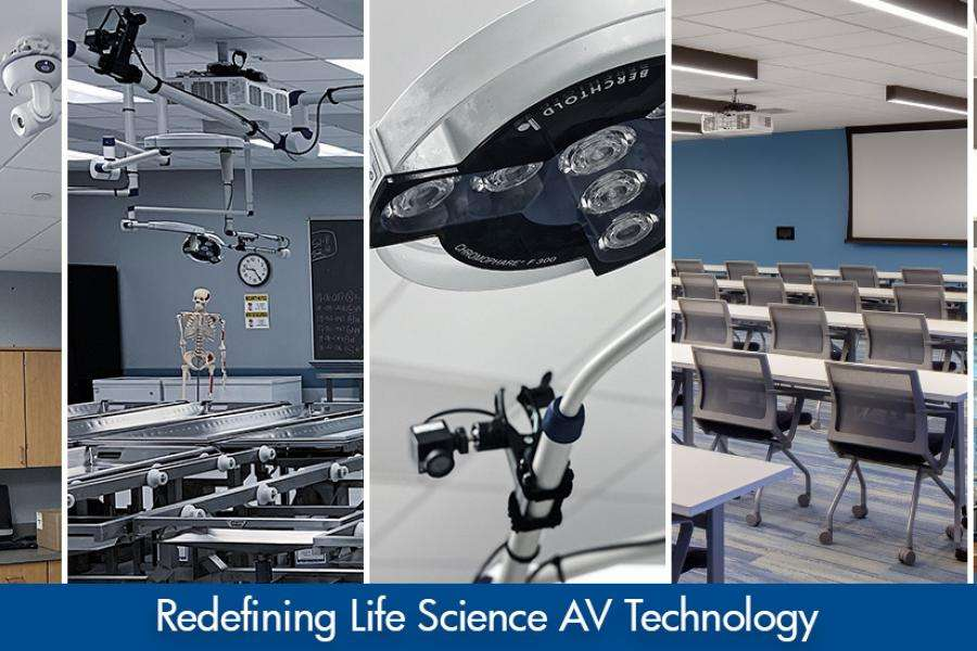 Redefining Life Science AV Technology in Classrooms, Labs, and Offices
